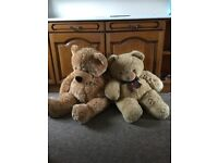 2 Large Teddy Bears For Sale Only £29 for the two