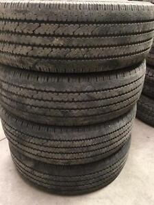 LT245/75/16 Bridgestone V-Steel, Kumho Road Venture,Toyo