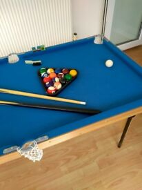 Children's Pool/Snooker Table