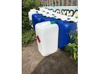 25 litres plastic drum for sale