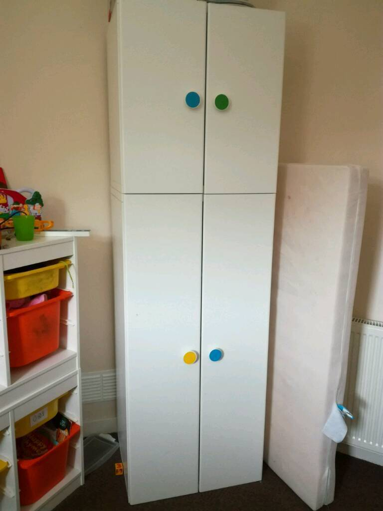 x4 ikea stuva kids wardrobe in sighthill edinburgh gumtree. Black Bedroom Furniture Sets. Home Design Ideas