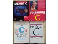 4 C Programming books