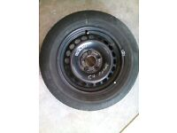 CAR TIER AND WHEEL AS NEW [195/65/15] GOODYEAR MAKE