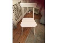 Ikea white arvinn chair