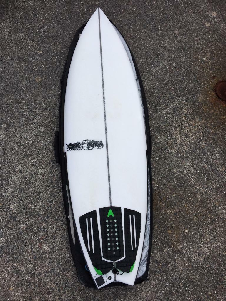 6ef8000d35 JS black box 3 shortboard surfboard 5'10"