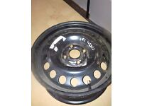 "Vauxhall corsa 15"" steel wheel 4 stud also fits Astra"