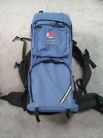 Bush Baby Adjustable Comfort System backpack back carrier Bushbaby