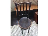 Fischel Antique Vintage Bentwood High Cafe Bistro Chair