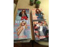 27 British Vogue Titles from 2013-2016. Proceeds going to Great Ormond Street