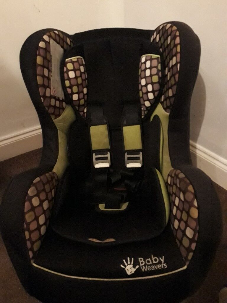 Stage one baby weavers car seat