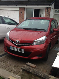 Toyota yaris vvti 2013 5 door 22000 miles 1 owner