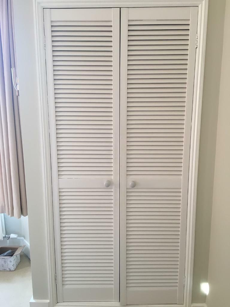 Louvre Cupboard Doors 2 Double Sets In Maidstone Kent