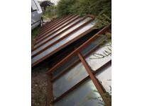 Shipway metal container can be used as a shed or storage