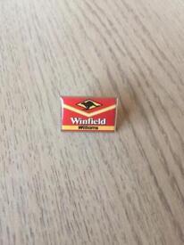 Winfield Williams pin badge