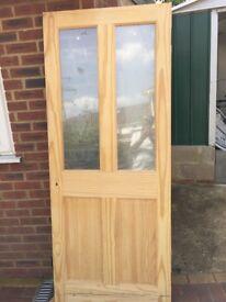 Interior Solid Pine Door Knot free