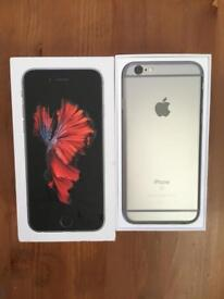 iPhone 6S 16gb boxed good condition unlocked