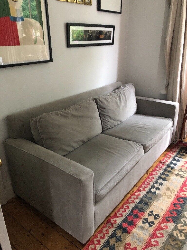 Tremendous West Elm Dove Grey Henry Queen Sleeper Sofa In Perfect Condition To Pick Up Now In Fulham London Gumtree Machost Co Dining Chair Design Ideas Machostcouk