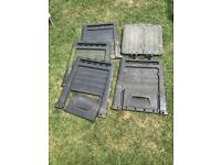 Square compost bin - slots together