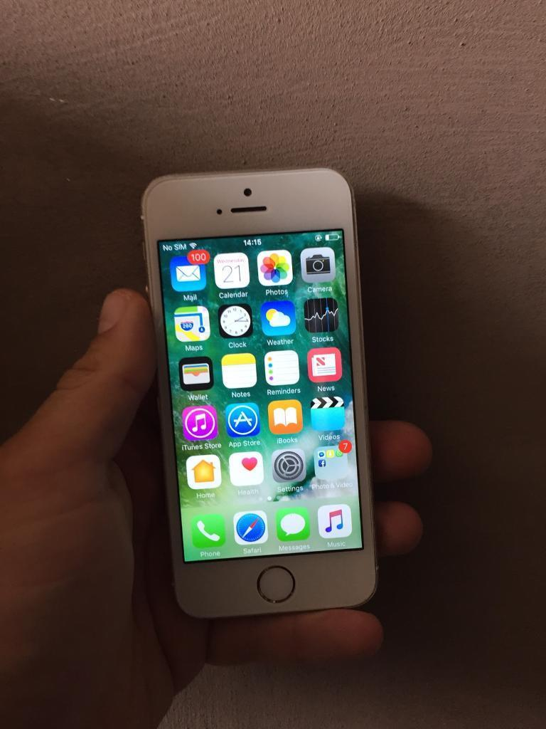 IPhone 5s 16gb Goldin Wivenhoe, EssexGumtree - Network O2 /Tesco Mobile and GiffGaffApple iPhone 16gb Gold£100