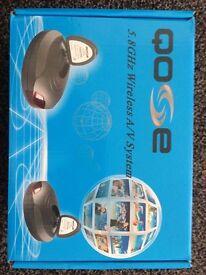 QOSE 5.8GHz Wireless A/V System