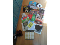 "COLLECTION VINYL LPS 7"" JOB LOT ELVIS BUDDY HOLLY"