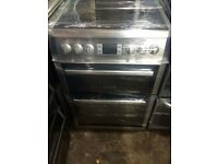 Leisure BLACK/STAINLESS STEEL new model 60CM ELECTRIC COOKER, 4 MONTHS WARRANTY, FREE LOCAL DELIVERY