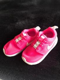Nike Pink Roshe Trainers Size 7.5