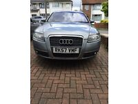 Audi A6 SE 1968cc 2008 not A8 A3 A7 Turbo Diesel Manual 6 speed 4 Door Saloon Grey