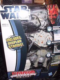 Star Wars Die-Cast Micro Model Ships