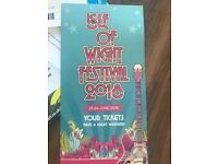 Isle of Wight festival weekend tickets x2 iow