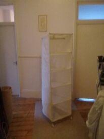 Clothes rack/storage shelves