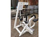Eleiko 3-D rowing up to 110kg weight machine.