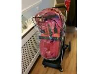 Mother care roam pink pram