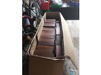 Box of parquet flooring