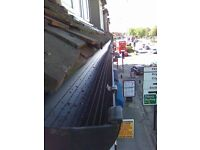 GUTTER CLEANING , REPLACEMENT , ROOF REPAIR SERVICES IN EAST , NORTH LONDON