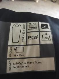 HiGear sleeping bag new with tags