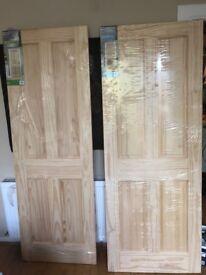 Clear Pine Interior Doors - Skipton