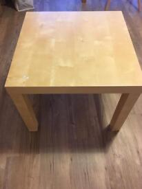 Small IKEA table for sale