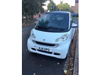 Smart ForTwo White Semi-Auto Automatic 2011, 50300 Miles £0 Tax Cheap Insurance Low Running Cost