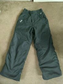 Childs unisex ski trousers