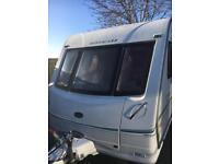 Bessacarr cameo 550 gl caravan twin axel