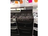 CANNON 55CM ALL GAS COOKER IN BROWN WITH LID. W