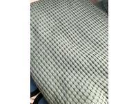 Bedspread light grey- green