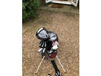 High end golf clubs set