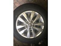 VW Transporter Alloys/Tyres