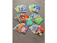 Early reading books 1-3 Stages. Biff Chip and Kipper series