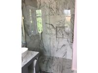 tiler , stonemasonary, bathroom refurbishment