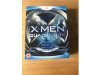 X-MEN QUADRILOGY BLU-RAY COLLECTION