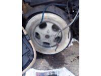 Piaggio white wall tires