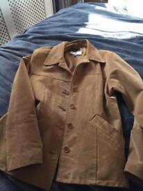 Suede jacket size large